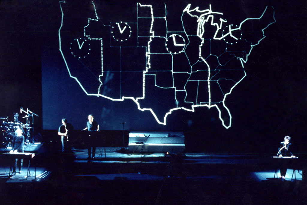 performance laurie anderson us tour 1983