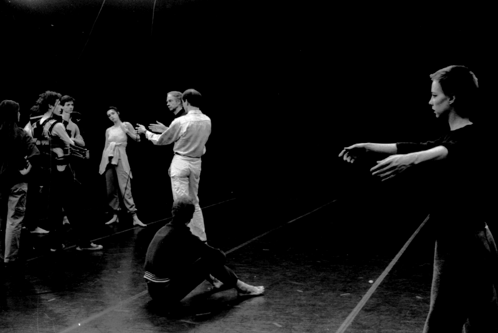Charles Atlas Film: Locale with Merce Cunningham, dancers and crew